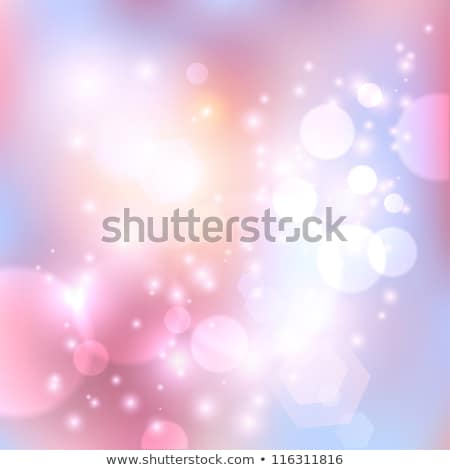 Fioletowy niebieski bokeh streszczenie świetle ilustracja Zdjęcia stock © alexmillos