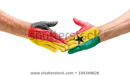 Duitsland vs Ghana groep fase wedstrijd Stockfoto © smocker03