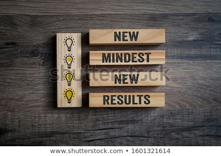 Stock foto: New Mindset New Results