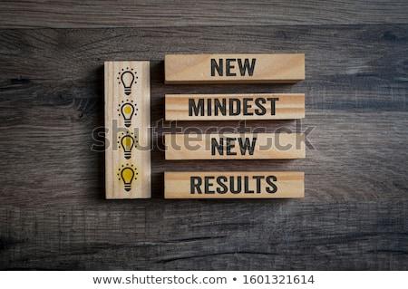 Сток-фото: New Mindset New Results