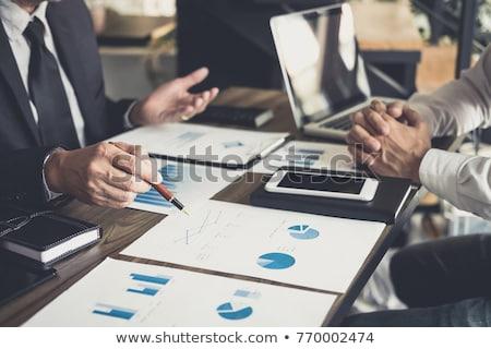 Team Investing Stock photo © Lightsource