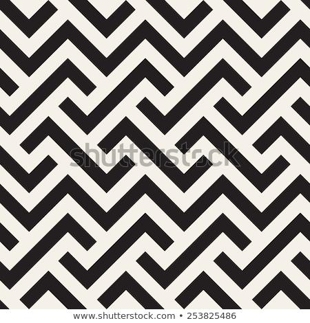Négyszögletes mértani végtelen minta klasszikus stílus absztrakt Stock fotó © kali