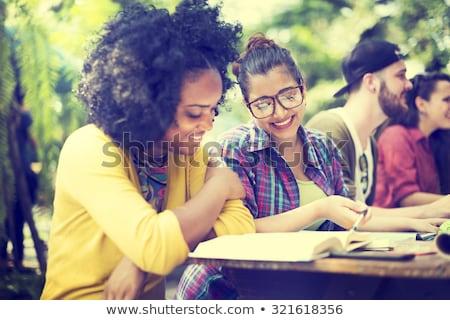 read study and learn stock photo © flipfine