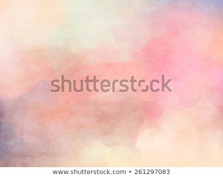 Grunge abstrakten Sommer blauer Himmel grünen Bereich Stock foto © karandaev
