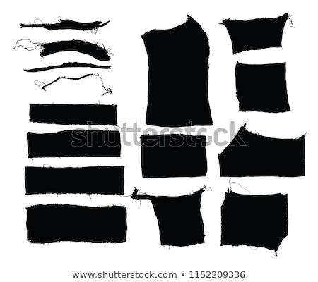 старые Torn ткань край аннотация дизайна Сток-фото © inxti