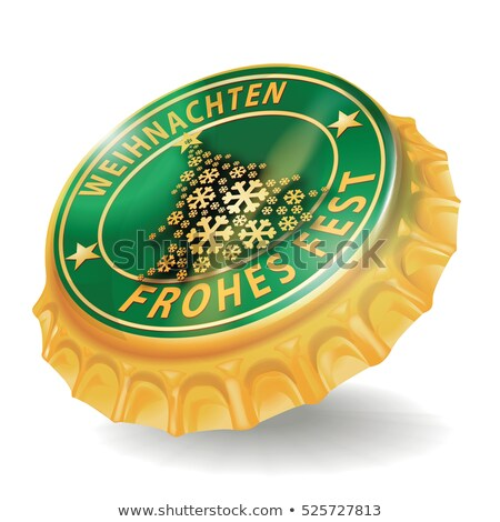 Bottle cap with comet Stock photo © Ustofre9