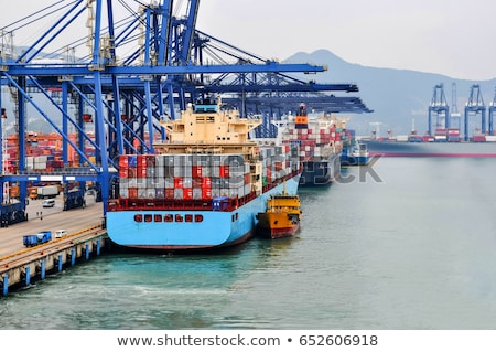 Commercial Dock Stock photo © gemenacom