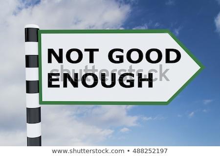 Nem jó üzenet férfi szemek gyötrelem Stock fotó © Hofmeester