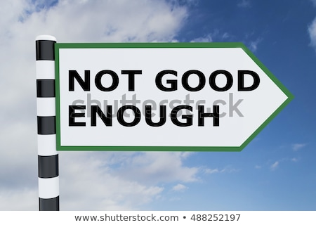 Not a good message Stock photo © Hofmeester