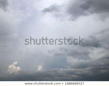 Nublado tela nuvens paisagem monitor de computador Foto stock © tilo