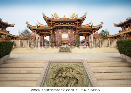 chinese temple in macau china stock photo © travelphotography