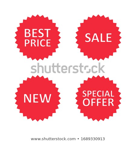 Hétvége ajánlat piros vektor ikon gomb Stock fotó © rizwanali3d