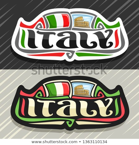 Welcome to Italy stock photo © reemow