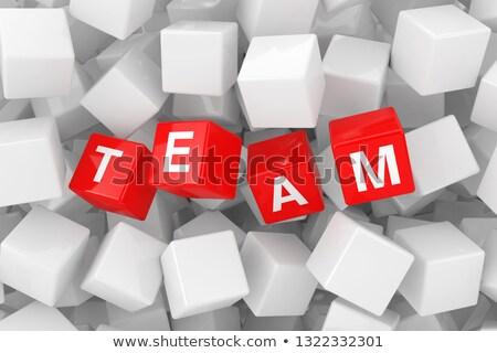 Extremism - Word on Red Puzzles.  Stock photo © tashatuvango