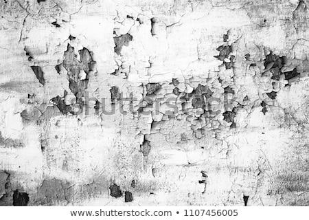szczegół · pęknięty · farby · ściany · tekstury - zdjęcia stock © iunewind