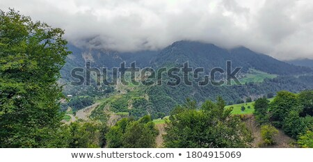Mountains in Gabala region  - Azerbaijan Stock photo © Elnur