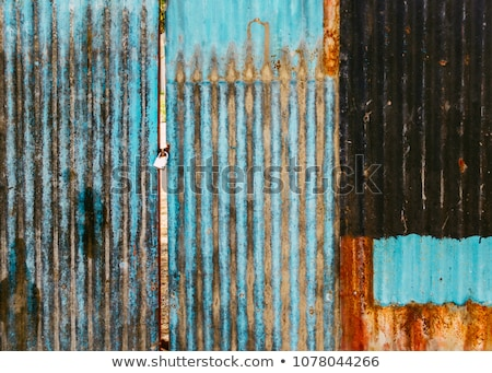 corrosie · oppervlak · ijzer · plaat · muur · verf - stockfoto © h2o
