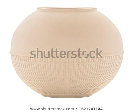 ceramica · vaso · isolato · bianco · luce · sfondo - foto d'archivio © scenery1