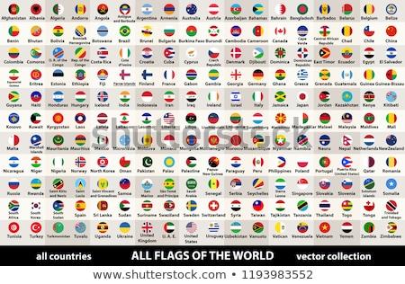 Foto stock: França · Butão · bandeiras · quebra-cabeça · isolado · branco