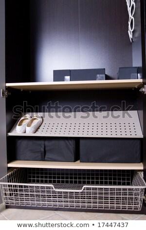 шкаф · подробность · ретро-стиле · очки · мебель · ретро - Сток-фото © bezikus