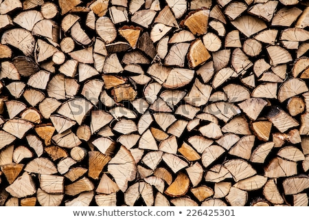 Background of dry chopped firewood logs in a pile Stock photo © nessokv