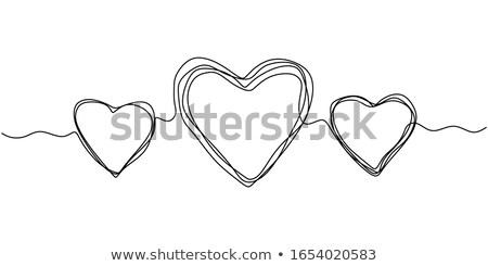 Stock photo: Three Hearts