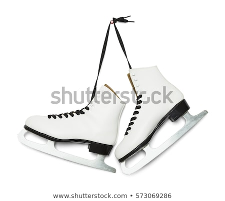 ホッケー スケート 孤立した 白 細部 ストックフォト © Supertrooper