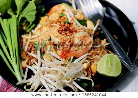тайский · окончательный · уличной · еды · Таиланд · продовольствие · кухне - Сток-фото © art9858