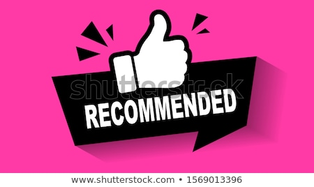 premium quality pink seal label vector icon stock photo © rizwanali3d