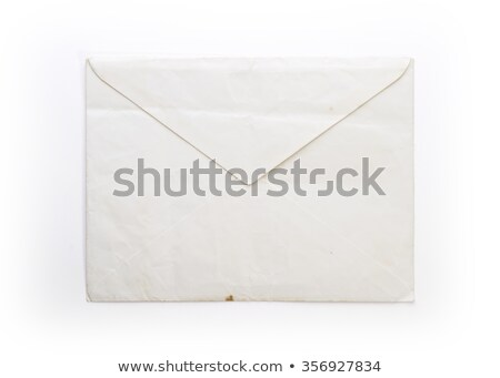 Old, Wrinkled Envelope Stock photo © 3mc