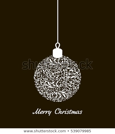 light christmas backdrop with three balls eps 8 stock photo © beholdereye