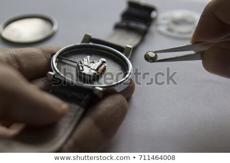 Horologists supplies for watch and clock repairs Stock photo © Giulio_Fornasar
