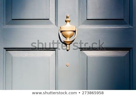 Çin · stil · kapı · mimari · kilitlemek · Asya - stok fotoğraf © cozyta
