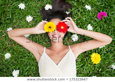 Spring woman Stock photo © iko