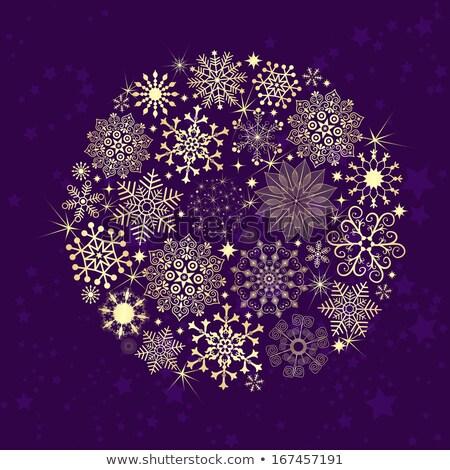 Végtelenített sötét ibolya karácsonyi minta klasszikus gradiens Stock fotó © OlgaDrozd