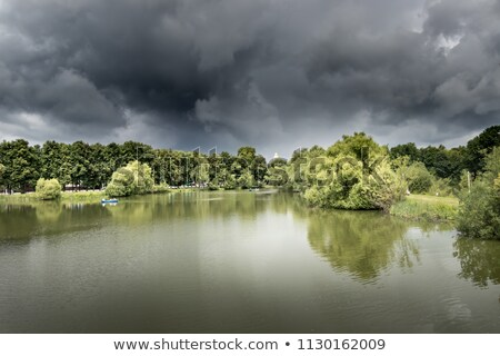 storm over the lake Balaton  Stock photo © Fesus