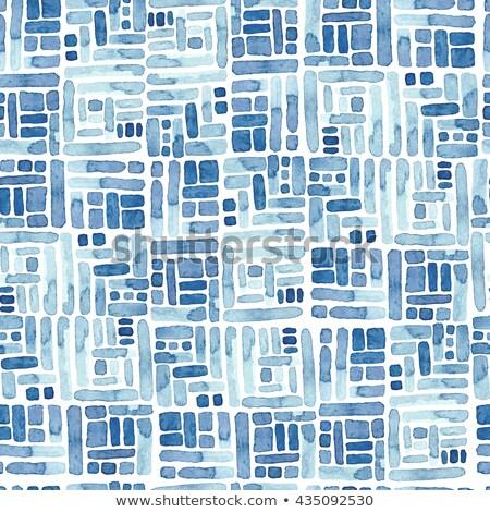 absztrakt · végtelen · minta · modern · elegáns · textúra · mértani - stock fotó © Vanzyst