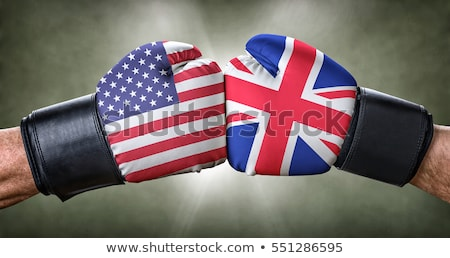 A boxing match between the USA and the UK Stock photo © Zerbor