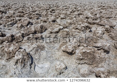 Zout platen dood vallei duivel gas Stockfoto © meinzahn