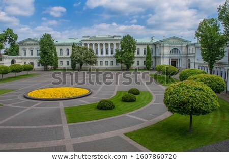 the presidential palace vilnius old town lithuania stock photo © xantana