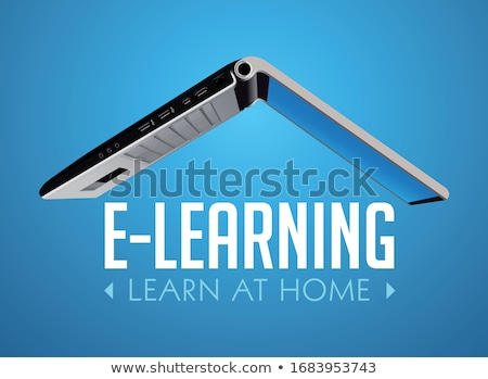 Imagem transferir laptop tela moderno Foto stock © tashatuvango