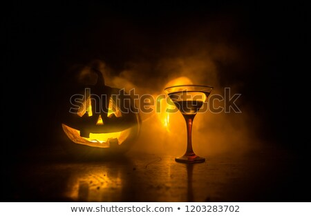 Halloween drink for party, selective focus Stock photo © Lana_M