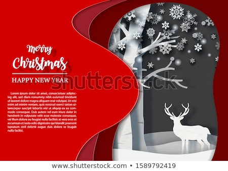 vector winter frost background Stock photo © freesoulproduction