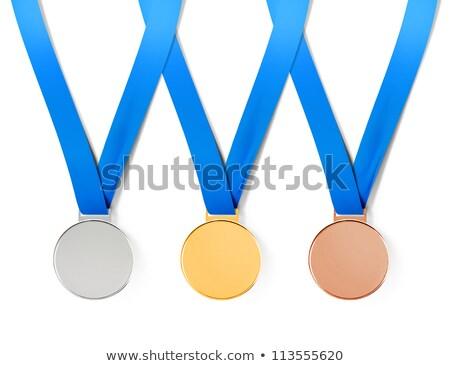 Stockfoto: Collectie · pad · sport · witte · school