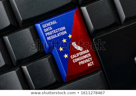 computer keyboard gdpr stock photo © oakozhan