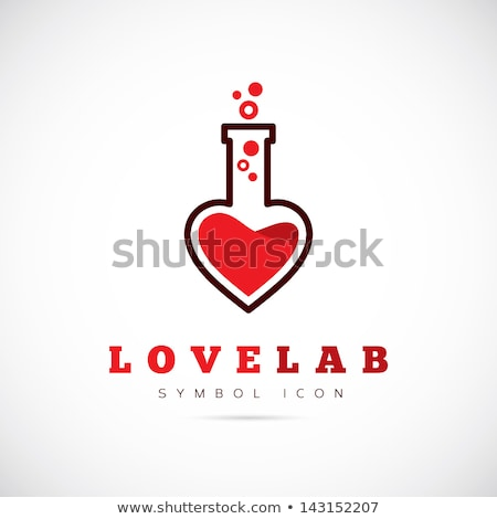 Love Potion Heart Bottle Stock photo © albund