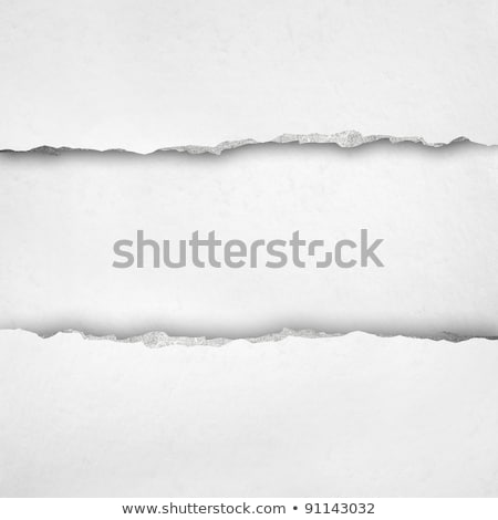 Nota boek pagina gescheurd rand schrijfpapier Stockfoto © pakete