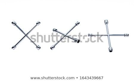 aleación · rueda · disco · aislado · blanco - foto stock © iserg
