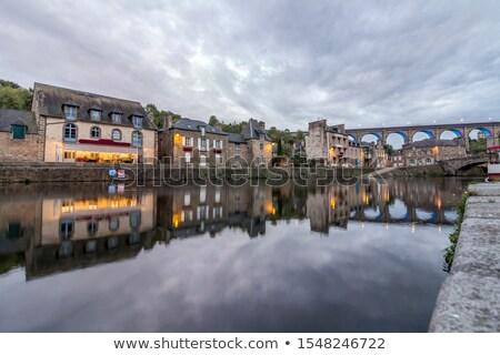 Frankrijk · historisch · centrum · heuvel · stad - stockfoto © tilo