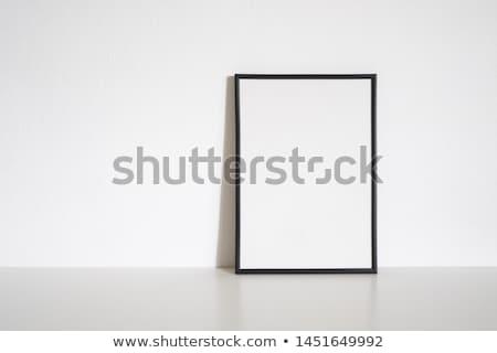 Minimal Black Frame background  Stock photo © solarseven